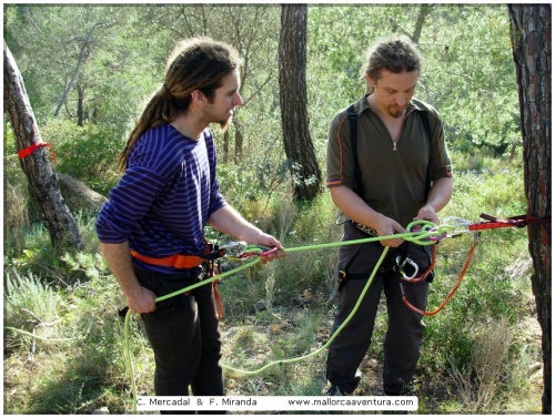 Rope Installations  - In the category Courses